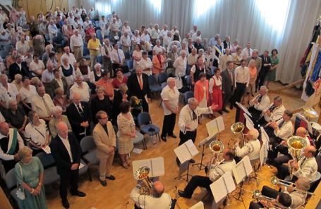 Zahlreich waren die Besucher zum Tag der Heimat nach München gekommen