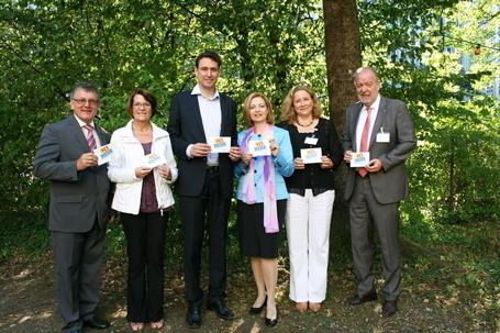 Unterstützen die Initiative: Anton Huber, Ursula Lay, Georg Eisenreich, Rita Bovenz, Susanne Arndt, Jürgen Wunderlich (v.l.n.r.)