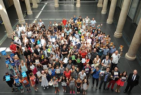 Die Preisträger der letzten Wettbewerbsrunde 2014/15