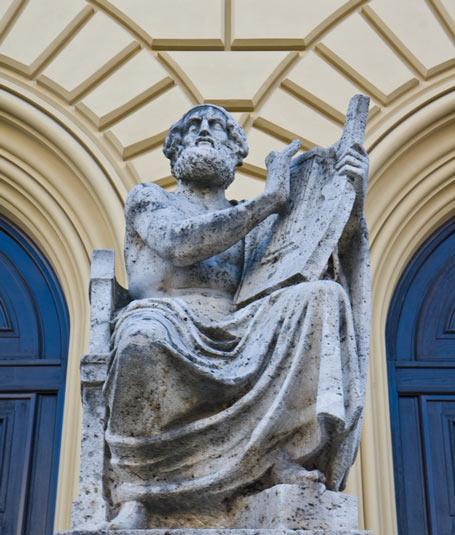 Homer - Autor der ersten großen Schriftzeugnisse der griechischen Geschichte. Sie stellen in ihrer Originalsprache Grundlagen unserer europäischen Kultur dar.
