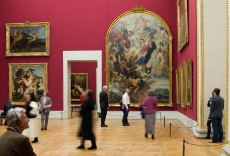 Rubenssaal in der Alten Pinakothek
