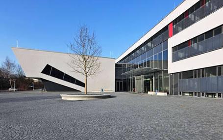 Beispielhaft für den Hochschulausbau in Bayern: Neubau auf dem Campus der Universität Bayreuth