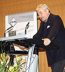 Bildungsminister Dr. Ludwig Spaenle würdigte Sachsenröder als Botschafter des bayerischen Bildungssystems