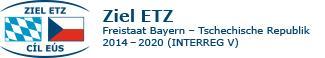 Logo des INTERREG 5a Programms Freistaat Bayern - Tschechische Republik