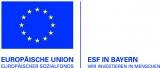 Logo ESF in Bayern - Wir investieren in Menschen