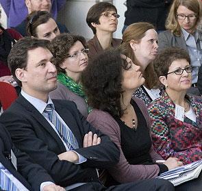 Staatssekretär Georg Eisenreich beim Kongress in Forchheim