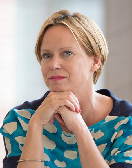 Die neue Direktorin des Staatlichen Museums für Kunst und Design Nürnberg: Eva-Christina Kraus