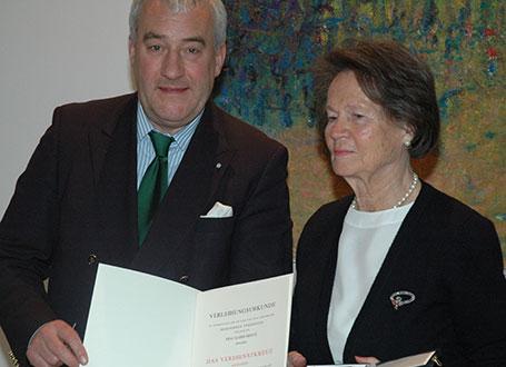 Kultusminister Dr. Ludwig Spaenle und Karin Heintz