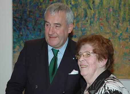 Kultusminister Dr. Ludwig Spaenle und Waltraut Klein