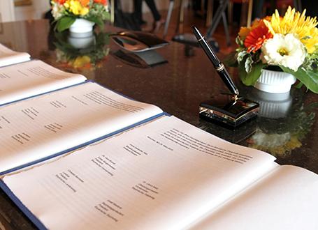 Die Ganztagsvereinbarung vor der Unterzeichnung