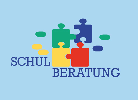 Die Staatlichen Schulberatungsstellen in Bayern: Ein Klick in die Grafik führt zum Flyer