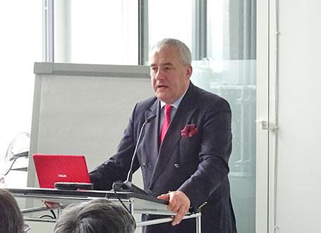 Wissenschaftsminister Dr. Ludwig Spaenle bei der Festrede im Vorhoelzer Forum an der Technischen Universität München