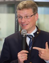 Staatssekretär Bernd Sibler bei der Eröffnungsveranstaltung
