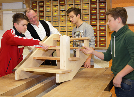 Bis zum 27. Februar haben junge Leute die Gelegenheit, in Betrieben, Ämtern und Schulen Berufe kennenzulernen