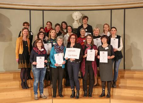 SINUS-Schulen in Bayern: Vertreter des Regierungsbezirks Mittelfranken