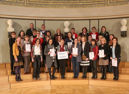 SINUS-Schulen in Bayern: Vertreter des Regierungsbezirks Niederbayern