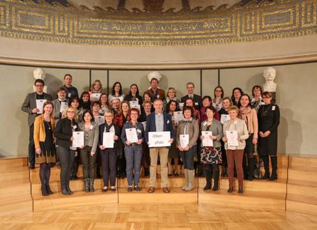 SINUS-Schulen in Bayern: Vertreter des Regierungsbezirks Oberpfalz