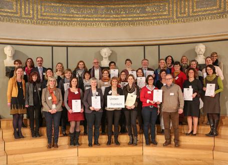 SINUS-Schulen in Bayern: Vertreter des Regierungsbezirks Unterfranken