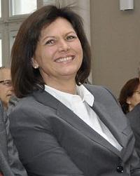 Wirtschaftsministerin Ilse Aigner bei der Informationsveranstaltung