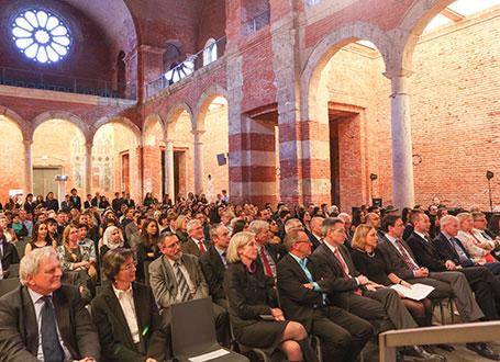 Die Ehrung fand in der Allerheiligen-Hofkirche in München statt