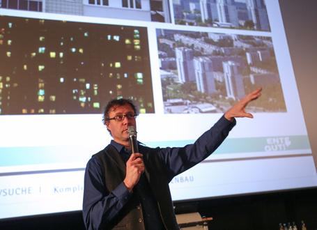 Norbert Lechner (Produzent und Regie) stellte den Film