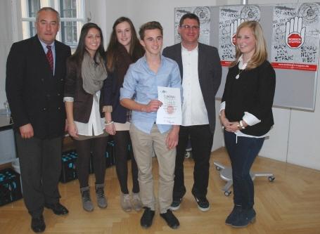 Die Richard-Rother-Realschule Kitzingen gewann den 1. Preis der Realschulen