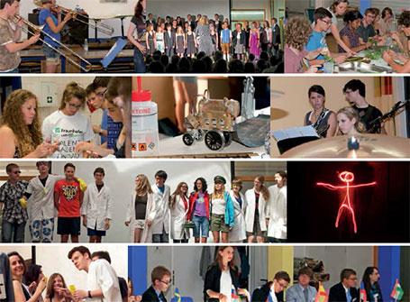 Gemeinsam forschen, Projekte durchführen, Spaß haben - dafür steht die Europäische Talent Akademie