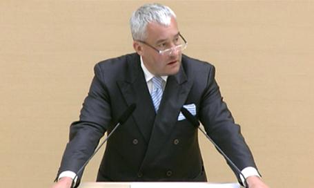 Kultusminister Dr. Ludwig Spaenle im Bayerischen Landtag