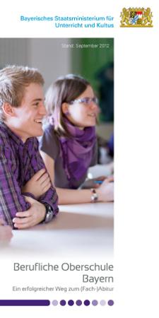 E-Paper zu der Beruflichen Oberschule: Zum Lesen einfach auf das Titelbild klicken
