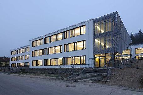 Das neue Erweiterungsgebäude der BS Eichstätt