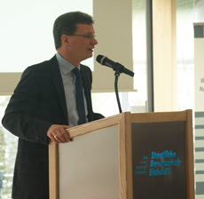 Staatssekretär Bernd Sibler bei seiner Festrede