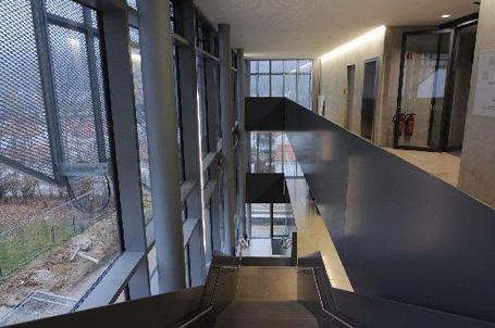 Helligkeit und Transparenz sind die wichtigsten Gestaltungskriterien des Neubaus