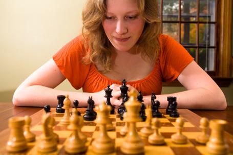 Höchste Konzentration war bei der Deutschen Schulschachmeisterschaft in Schönberg gefragt.