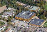Luftbild des neuen WHG-Gebäudes