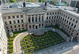 Das Gebäude des Bundesrates