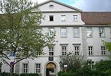 Holbein-Gymnasium Augsburg (Eingang des Altbaus)