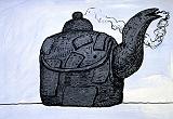 Philip Guston, Untitled (Kettle), 1980