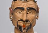 Das Gesicht des etruskischen Todesdämons Charun