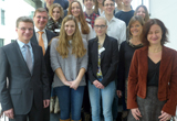 Teilnehmerinnen und Teilnehmer des Unitags Passau