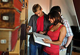 Schüler recherchieren für den Geschichtswettbewerb