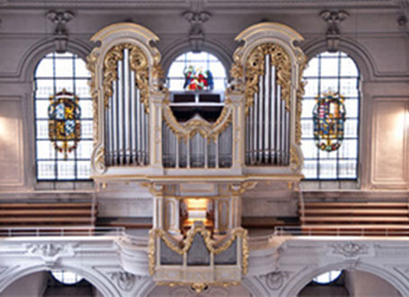 Die Orgel in St. Michael