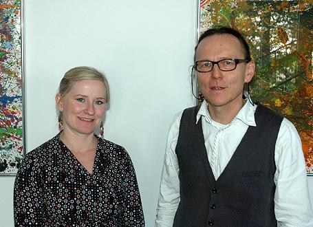 Annett Lißke und Bernd Klinger