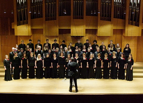 Madrigalchor an der Hochschule für Musik und Theater München (Foto: Madrigalchor)