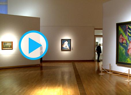 Expressionismus² - Blick in die Ausstellung