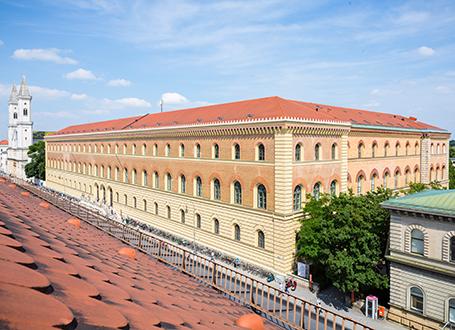Bayerische Staatsbibliothek in München
