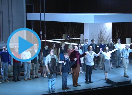 Ausschnitt aus der Aufführung von Pelléas et Mélisande